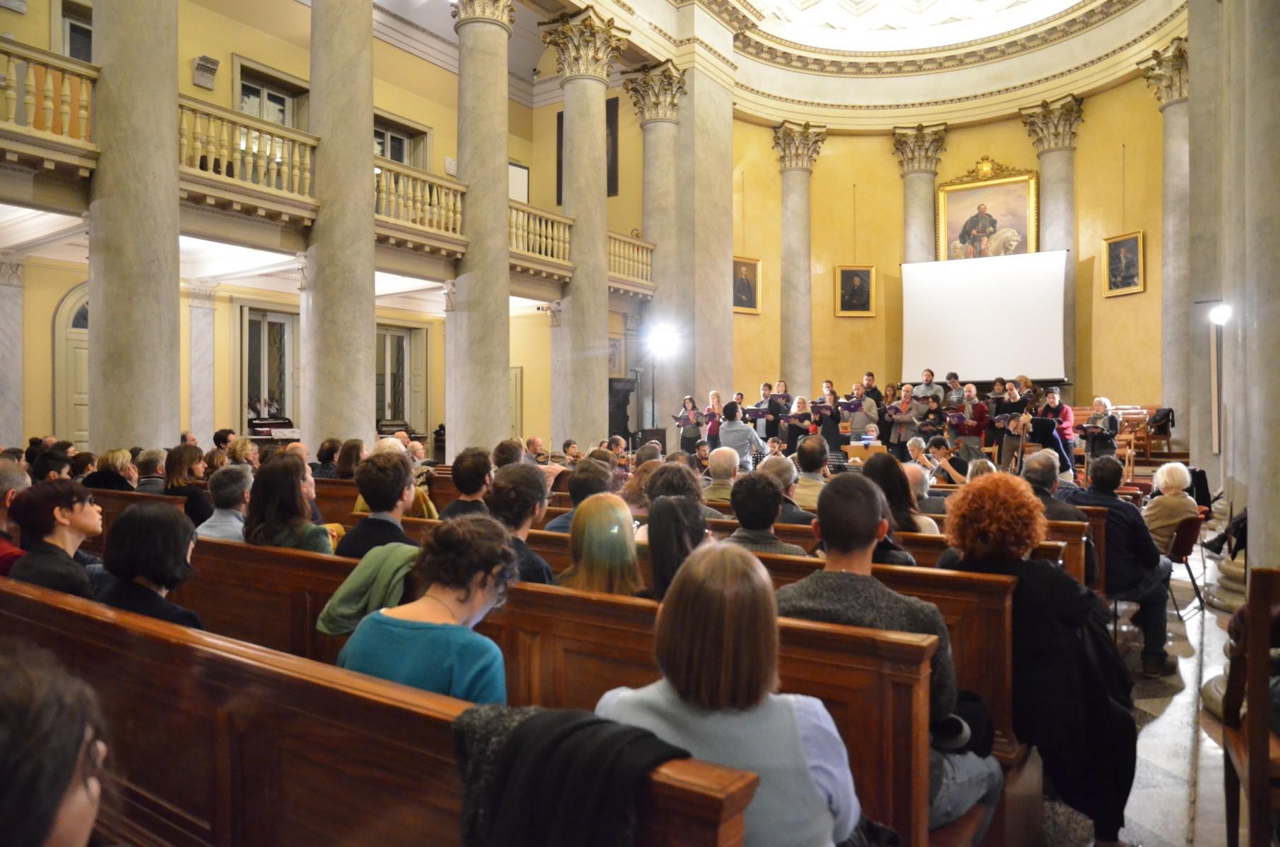 Prova Coro e Orchestra Ghslieri